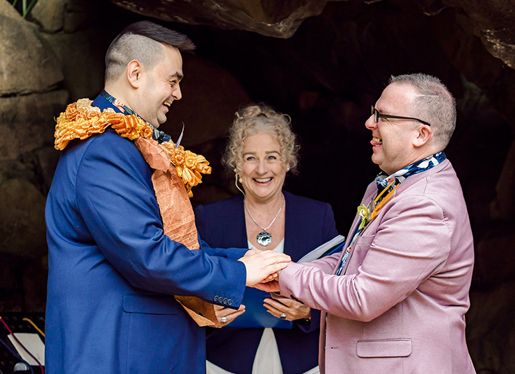 Rainbow Pride Celebrant Same Sex Wedding Celebrant Gay & Lesbian Marriage Celebrant LGBTQI