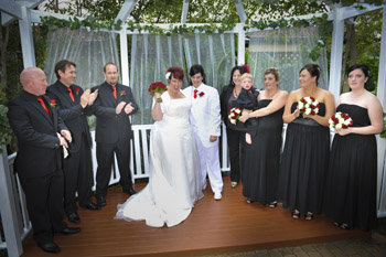 All fabulous Photos of Maria & Sally's Commitment Courtesy of John Bortolin Photography