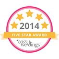 Rainbow Pride Celebrant Marry Me Marilyn Easy Weddings 2014 5 Star Review Award