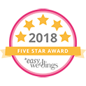 Marry Me Marilyn_Easy Weddings_Five Star Badge_2018