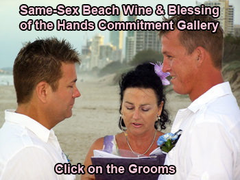 Same-Sex Beach Wine and Blessing of the Hands Photo Gallery