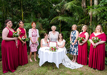 Rainbow Pride Celebrant_Ronja_Emily Wedding Pethers Rainforest Retreat Mt Tamborine