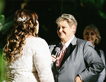 Rainbow Pride Celebrant Lauren & Kim Civil Partnership Boulevard Gardens Indooroopilly Brisbane